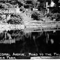 Image of Road to Falls - Indian River Park, Cathedral Avenue. - Indian River Park, Cathedral Avenue, road to falls