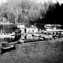 Image of Deep Cove Park, Wharf with canoes, Boat Rentals - Deep Cove Park, Wharf with canoes, Boat Rentals