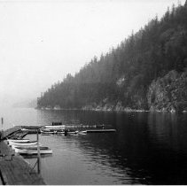 Image of 0639 - Boats in Deep Cove 1946