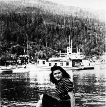 Image of 0777 -Eileen Steele (Cottrell) Gov't Wharf 1941