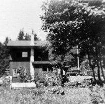 Image of 0585 - Stirrat new store-house rear view 1948