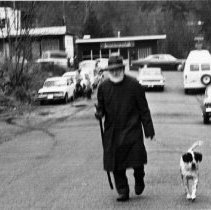 Image of 0908 - Ben Alway & Tiki on Banbury c1970