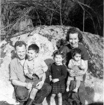Image of The Allardice Family 1953
