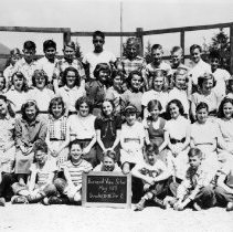 Image of Burrard View School May 1953 Gr. 6/7 Div. 2