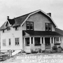 Image of John E. Moore home in Williams Lake