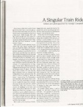 Image of A Singular Train Ride - page 1