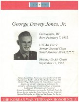 Image of G. D Jones, Jr Honor Roll