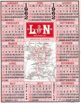Image of L&N Calendar 1962