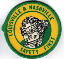 Image of Louisville & Nashville Safety First Patch