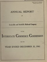 Image of Annual Report 1961