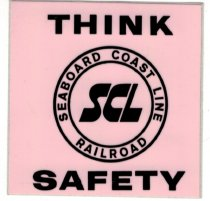 Image of SCL Think Safety decal