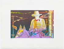 "Image of Alan Wood - Ranch Series Four #1 ""Horse and Cowboy"""