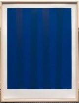 Image of Guido Molinari - Blue (From the Quantifier Series)
