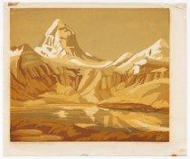 Image of Ellen Vaughan Grayson - Mt. Assiniboine, Lake Magog