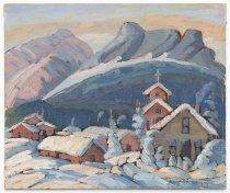 Image of Ellen Vaughan Grayson - Snow in the Rockies (Near Revelstoke)