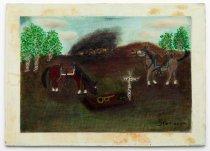 Image of Frank Kocevar - Horse and Grave