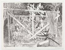 Image of Jack Shadbolt - Secret Garden #6