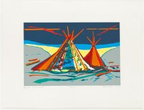 "Image of Alan Wood - Ranch Series Two #1 ""Tee Pees"""