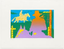 "Image of Alan Wood - Ranch Series Four #2 ""Horse and Cowboy"""