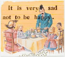 Image of Wanda Lock - Conversations with Dick and Jane [It is very sad not to be happy]