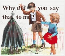 Image of Wanda Lock - Conversations with Dick and Jane [Why did you say that to me?]