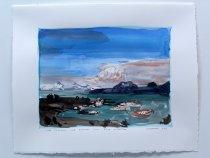 Image of John Hartman - Lake Okanagan and Kelowna from Knox Mountain