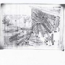 Image of OB005382 - Golf Course Layout - PHOTO COPY