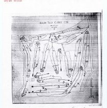 Image of A012622 - Golf Course Layout - PHOTO COPY