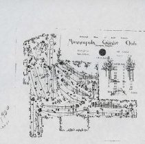 Image of A012623 - Golf Course Layout - PHOTO COPY