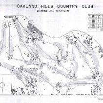 Image of A012885 - Golf Course Layout - PHOTO COPY