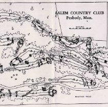 Image of A013564 - Golf Course Layout - PHOTO COPY