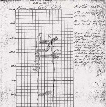 Image of OB002265 - Golf Course Field Sketch