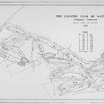 Image of OB002274 - Golf Course Layout