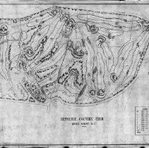 Image of OB002298 - Golf Course Layout