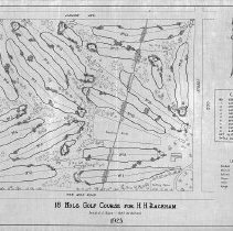 Image of OB002313 - Golf Course Layout