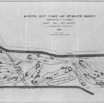 Image of OB002327 - Golf Course Layout