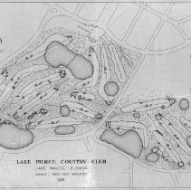 Image of OB002328 - Golf Course Layout