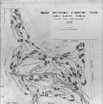 Image of OB002329 - Golf Course Layout