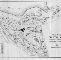 Image of OB002352 - Golf Course Layout