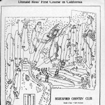 Image of OB002463 - Golf Course Layout