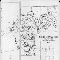 Image of OB002580 - Golf Course Layout