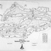 Image of OB002693 - Golf Course Layout
