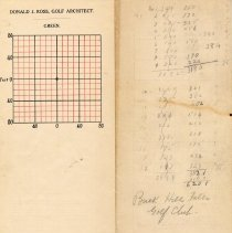 Image of OB002952 - Golf Course Notes