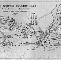 Image of OB003038 - Golf Course Layout