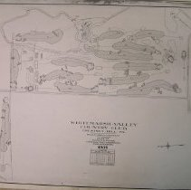 Image of OB004827 - Golf Course Layout - PHOTO COPY