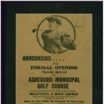 Image of Newspaper Ad Announcement of Formal Opening