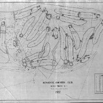 Image of OB003029 - Golf Course Layout
