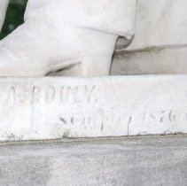 Image of Detail of Artist Signature