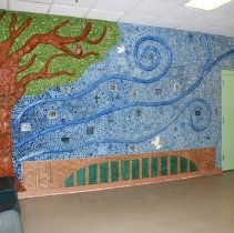 Image of Mural Site, Exit Lobby of the Department of Corrections