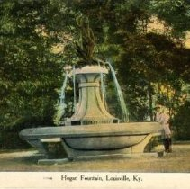 Image of <i>Hogan's Fountain</i>, Louisville, KY, c. 1910